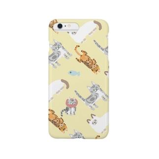 MyCats レモン Smartphone cases