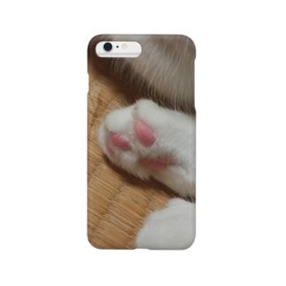 *猫シリーズ*肉球🐾 Smartphone cases