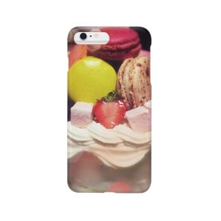 ❤️マカロンケーキ❤️ Smartphone cases