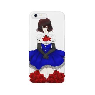 薔薇と少女 Smartphone cases