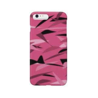 ピンク迷彩 Smartphone cases