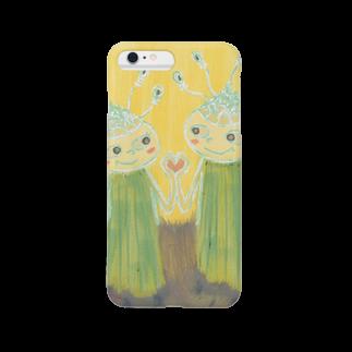 アトリエ葱の葱の恋人達 Smartphone cases