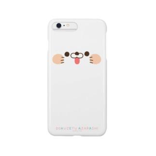 毒舌あざらし☆スマホケースiphone5/6/6plus共通デザイン Smartphone cases