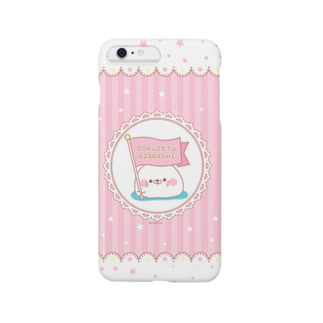 jellyfish西川@毒舌あざらし公式の毒舌あざらし☆スマホケース(iphone6-plus) Smartphone cases