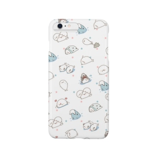ツンデレあざらし☆スマホケースiphone5/6/6plus共通デザイン Smartphone cases
