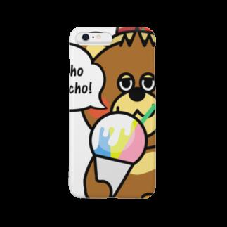 メルヘンダイバーのベアムーチョ-シェィブアイスB Smartphone cases