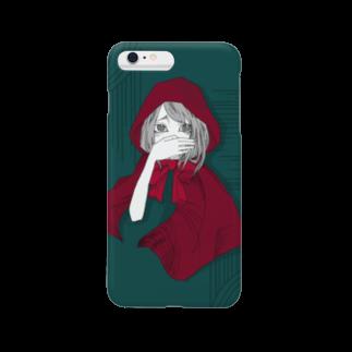 かつまた ゆいのLittle Red Hood Smartphone cases