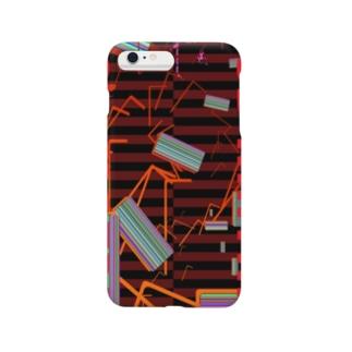 RGB MATRIX レッドストライプ Smartphone cases