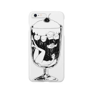 クリームソーダちゃん Smartphone cases