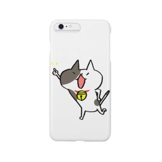 山口県のぶちちゃん1 Smartphone cases