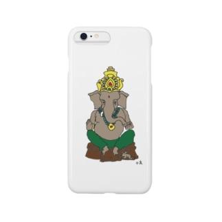 ガネーシャ Smartphone cases