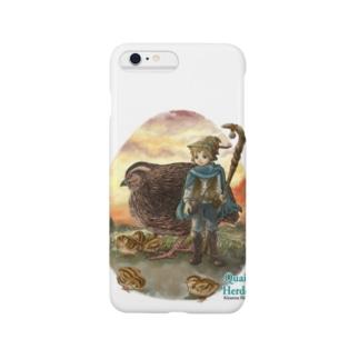 Quail Herder ~ うずら飼い Smartphone cases