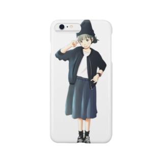 漆黒少女 Smartphone cases