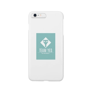 YES ターコイズブルー Smartphone cases
