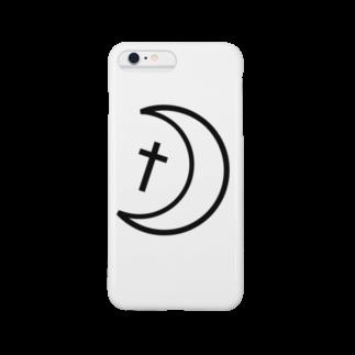 月 スマートフォンケース