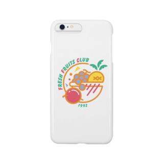 フレッシュフルーツクラブ(ポップ) Smartphone cases