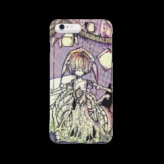 かじきのムラサキマリオネット Smartphone cases