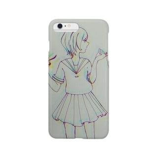 チョッキン Smartphone cases
