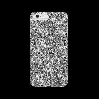 MAYAのXennaダンス!ホワイト Smartphone cases