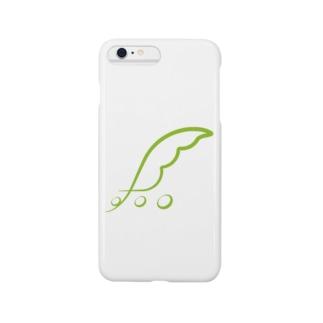 東北ずん子ロゴ Smartphone cases