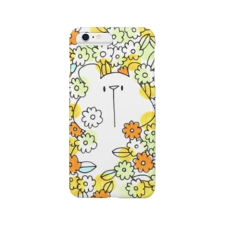 お花畑からこんにちは(iPhone 6/6s, iPhone 6/6s Plus) Smartphone cases