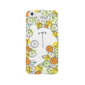 shirokumasaanのお花畑からこんにちは(iPhone 6/6s, iPhone 6/6s Plus) Smartphone cases