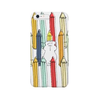 えんぴつSHIROKUMA(iPhone 6/6s, iPhone 6/6s Plus) Smartphone cases