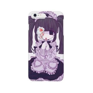 めどしゃん Smartphone cases