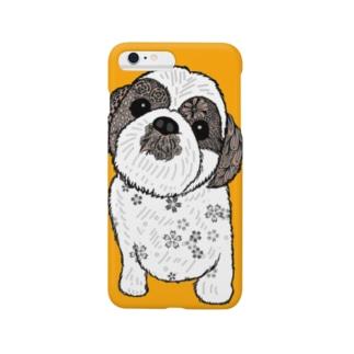 シーズー犬02 スマートフォンケース