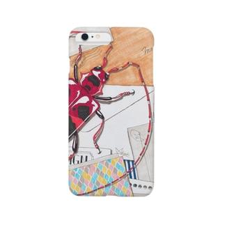 あっQ屋のlong horned beetle Smartphone cases