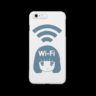 MatsuokaAzusaのWi-Fiちゃん Smartphone cases