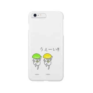 毒きのこ Smartphone cases