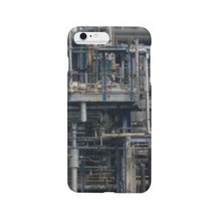 工場・配管 Smartphone cases