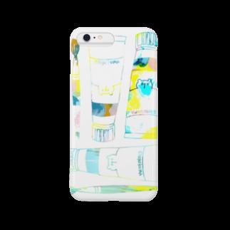shirokumasaanの絵の具セット(iPhone 6/6s, iPhone 6/6s Plus) Smartphone cases
