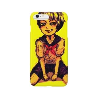 セーラー服の女の子 Smartphone cases