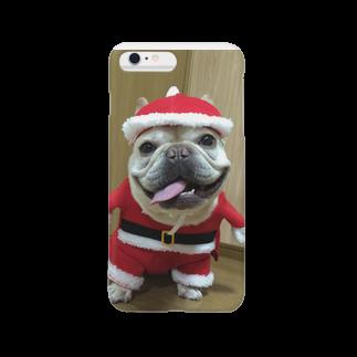 RedTonkotsuのとんこつサンタ Smartphone cases