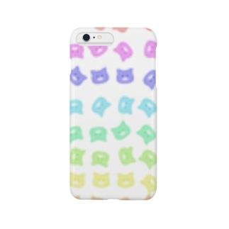 コロコロレインボー Smartphone cases