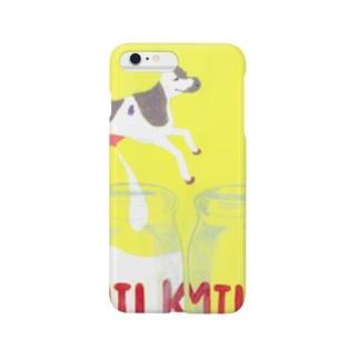 mow mow milk スマートフォンケース