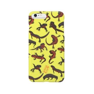 アカハライモリ Smartphone cases