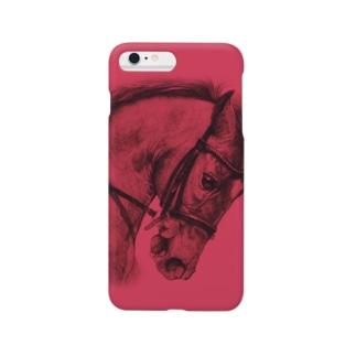 律動する馬(ルージュ) Smartphone cases