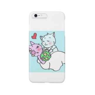 さくらんぼねこコレクション2 Smartphone cases