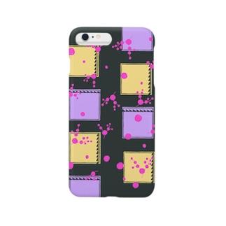 まるサンカク四角 Smartphone cases