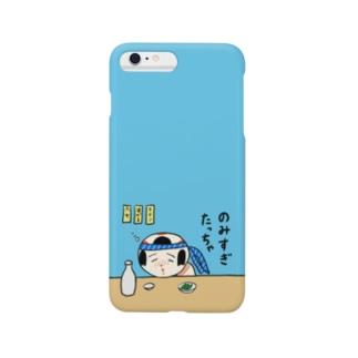 仙台弁こけし(のみすぎたっちゃ) スマートフォンケース