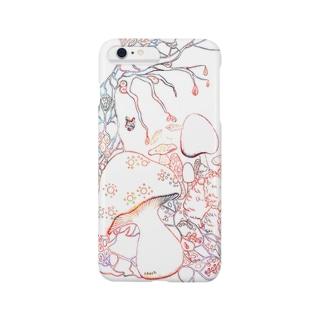 赤い森 dawn 【iPhone6/6plus】 Smartphone cases