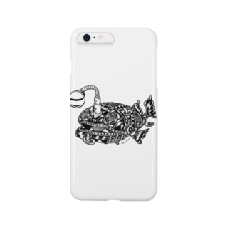"Animalia Kinky "" Black Atlantic Footballfish ""  Smartphone cases"