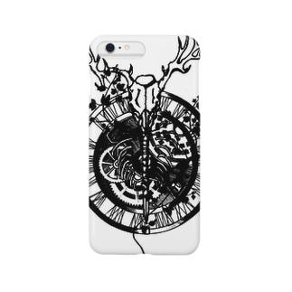 歯車と馴鹿 Smartphone cases