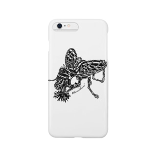 "Animalia Kinky "" Black Fly "" Smartphone cases"