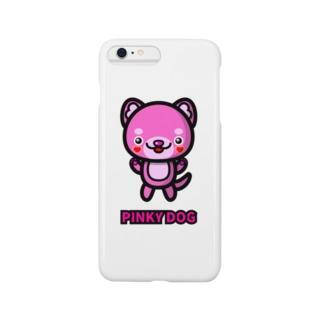 PINKY DOG スマートフォンケース