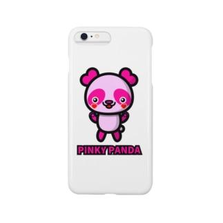 PINKY PANDA スマートフォンケース
