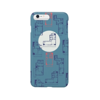 間取り図(iphone case) Smartphone cases